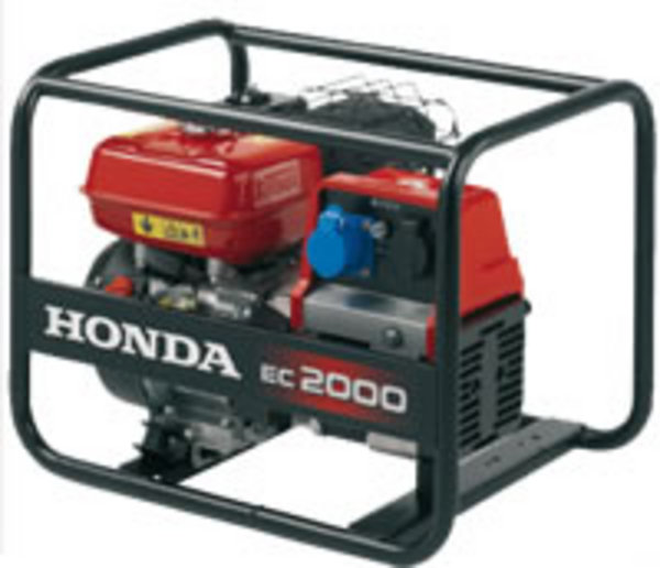 Generatore di corrente honda ec 2000 gruppi elettrogeni honda for Generatore di corrente diesel usato