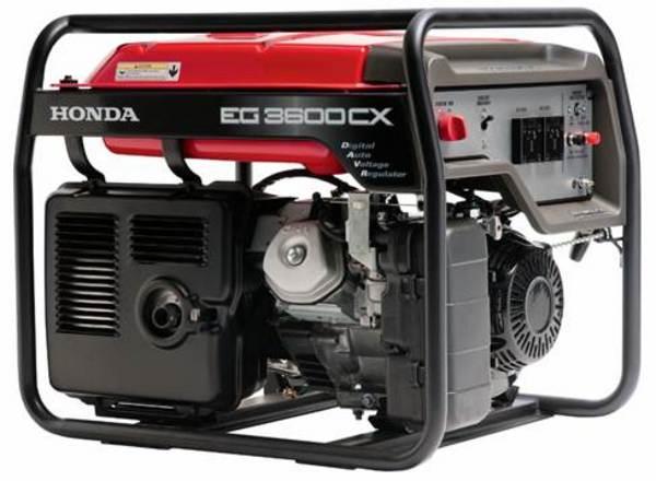 Generatore di corrente honda eg 3600 gruppi elettrogeni honda for Generatore di corrente honda usato
