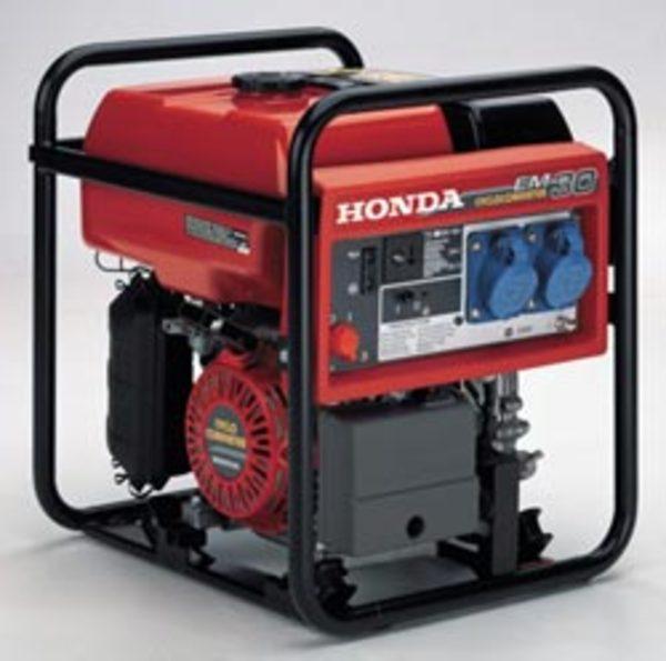 Generatore di corrente honda em 30 gruppi elettrogeni honda for Generatore di corrente honda usato