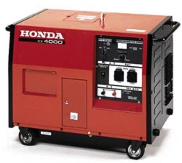 Generatore honda ex 4000 s gruppi elettrogeni honda for Amazon gruppi elettrogeni