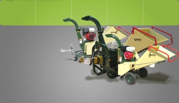 Gandini Meccanica: Cippatrici, trituratori e fresaceppi